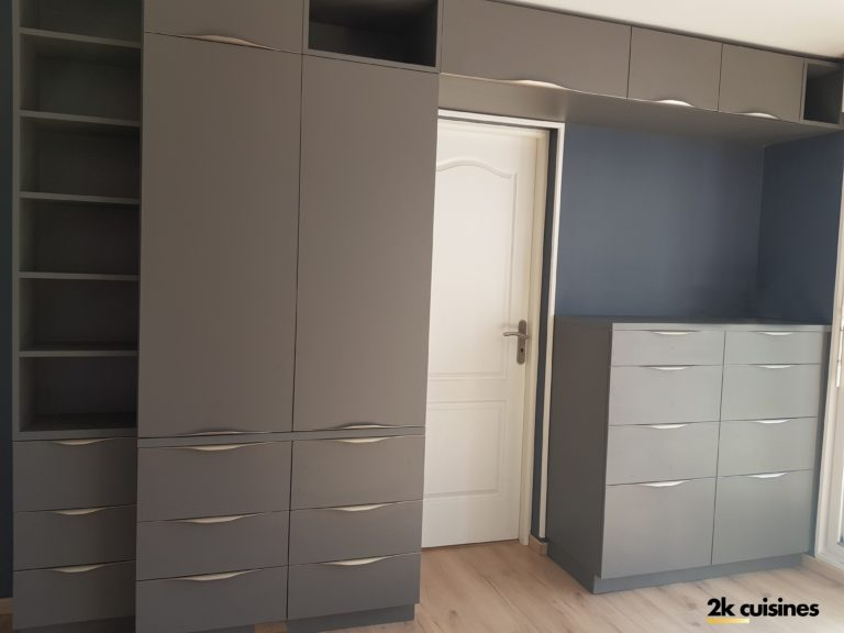 Création d'un meuble TV et rangement