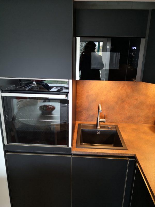 Une cuisine à l'ambiance contemporaine